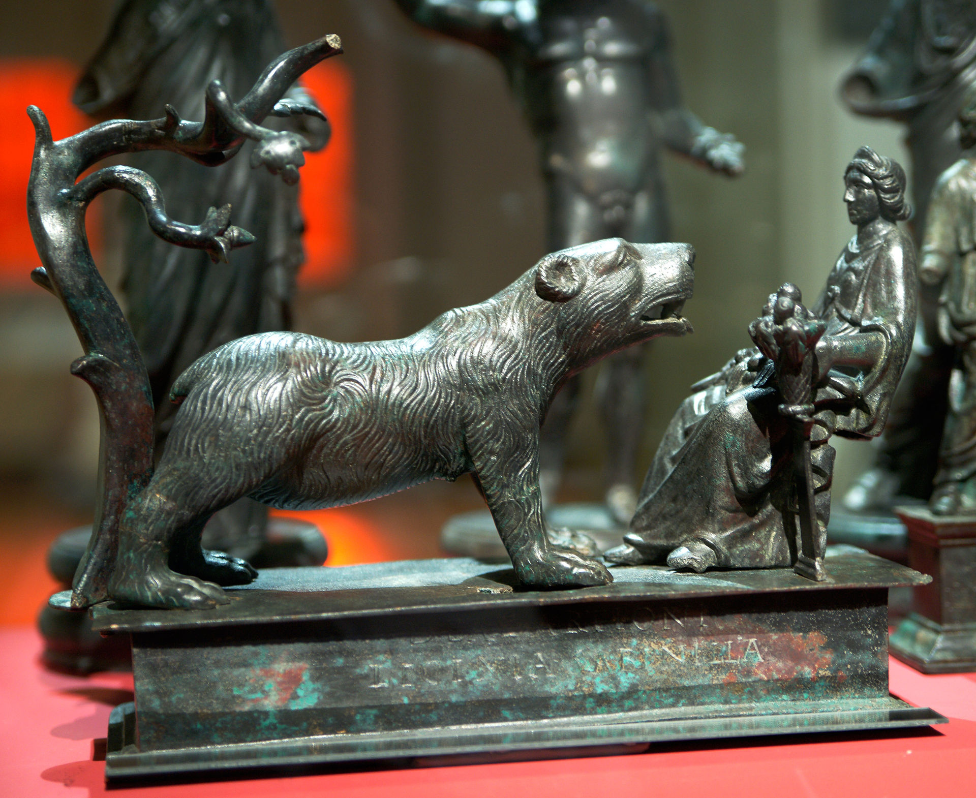Dea Artio, the bear goddess, Berne History Museum, Switzerland.