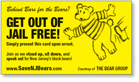 "Complimentary ""get out of Jail Free"" Card for all who attend :)"