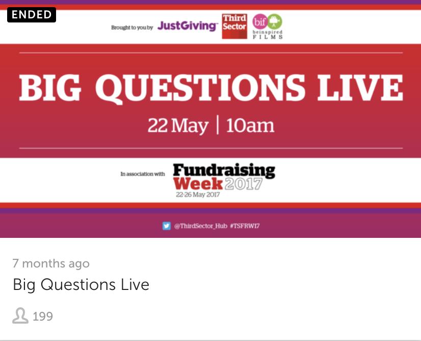 Big Question Live