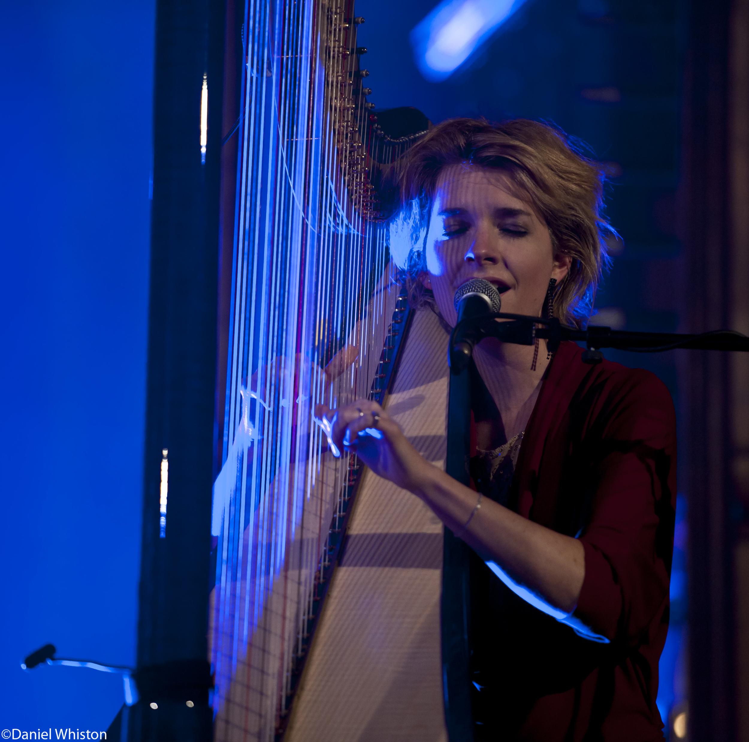 Catrin Finch singing