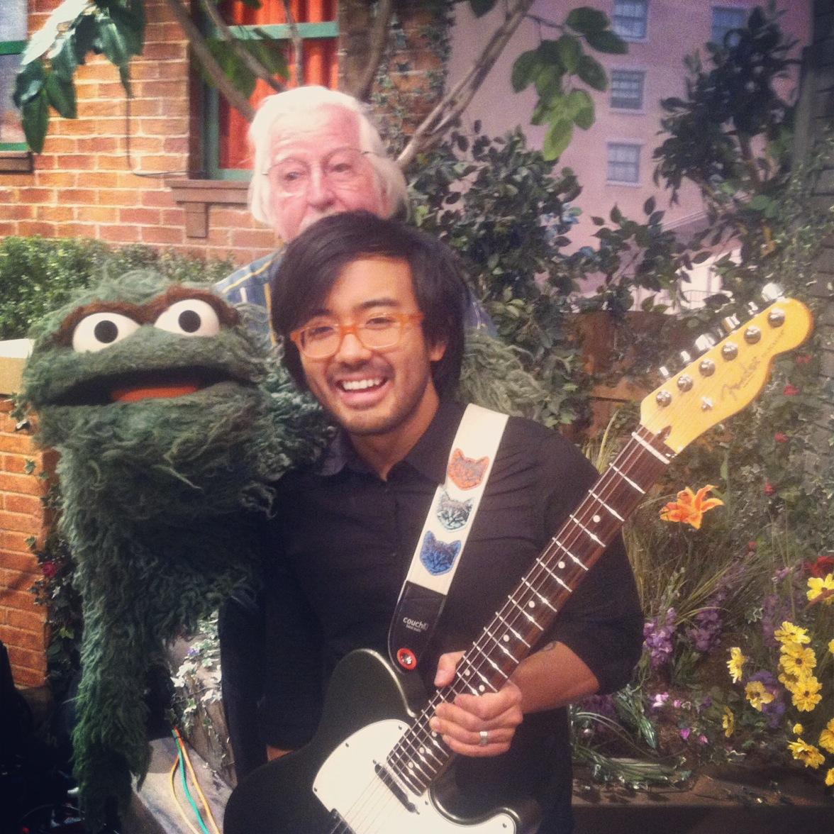 A Great Big World on Sesame Street! September 11, 2014.