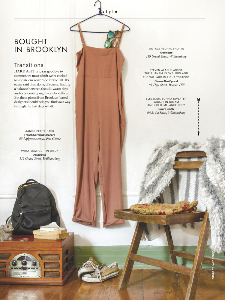 "Brooklyn Magazine (Sept) - ""Bought in Brooklyn"""