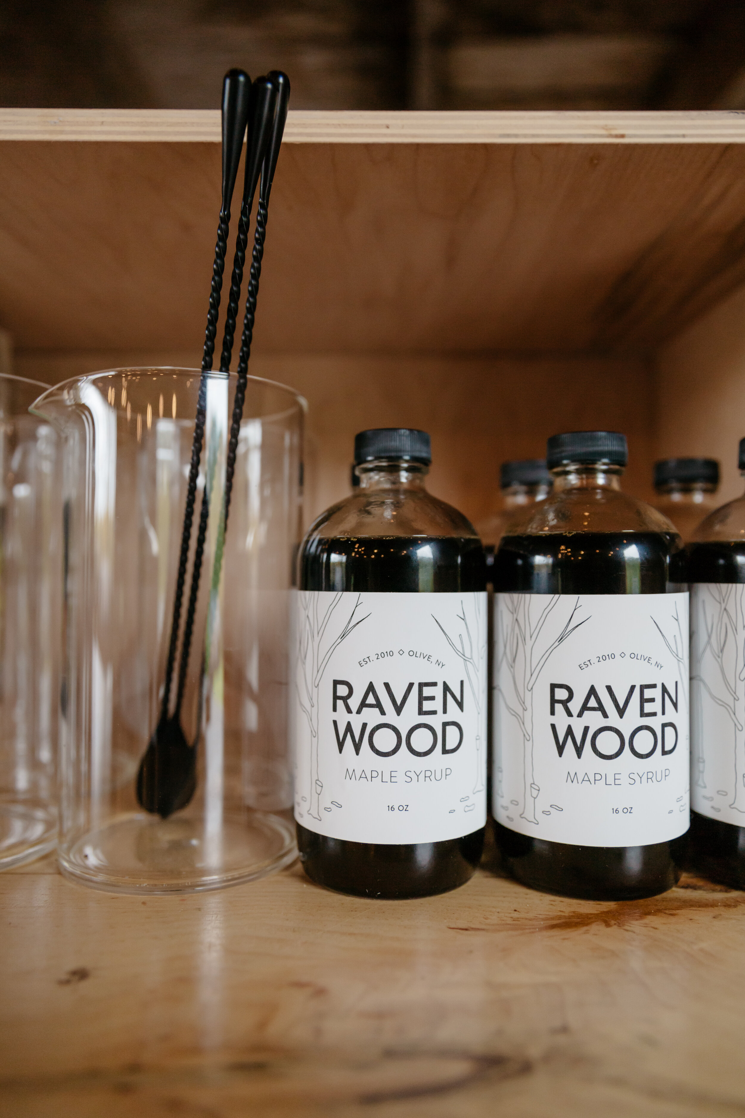 Ravenwood brand Maple syrup produced on their local land! It's exquisite!