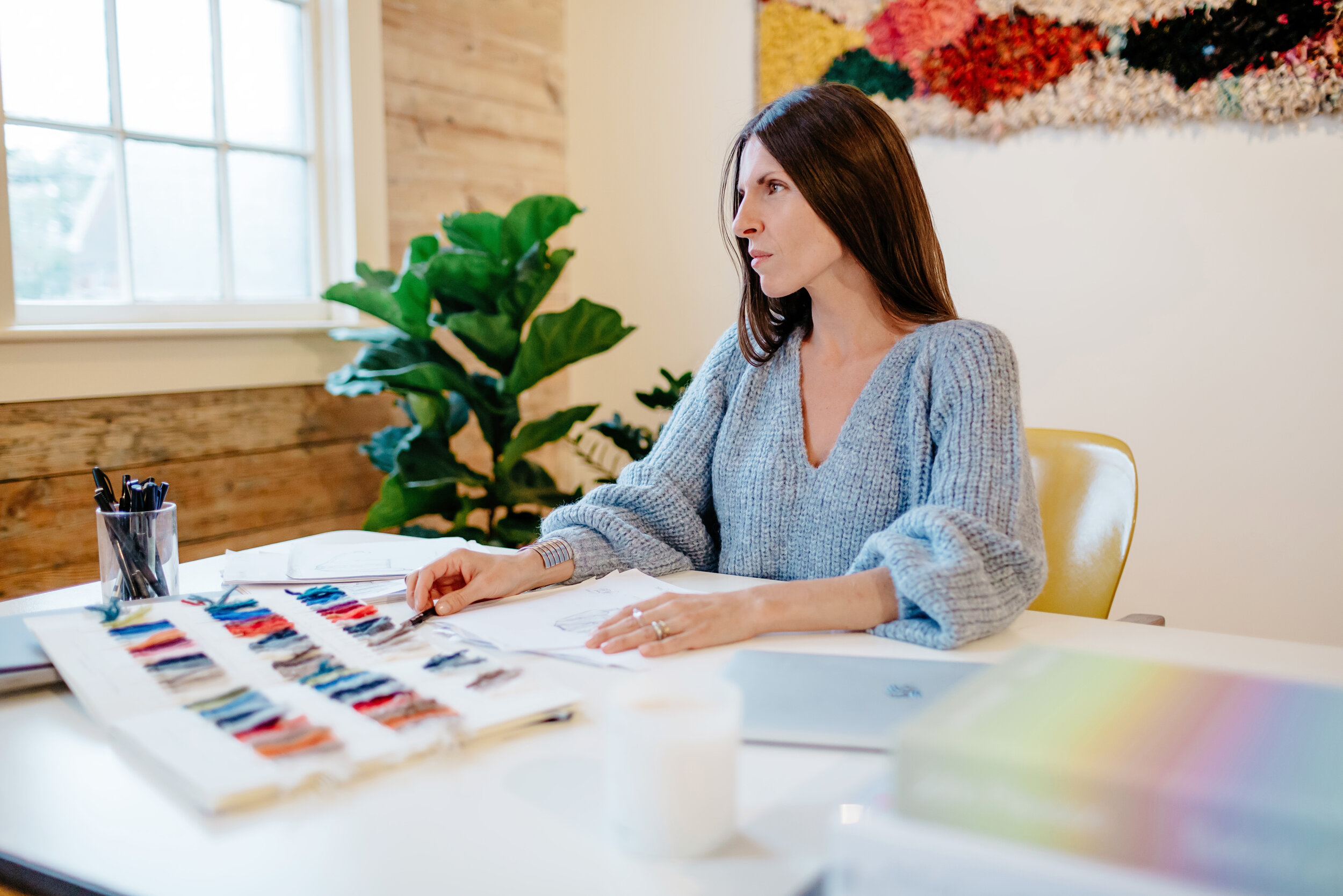 Co-founder: Catherine Carnevale at the ELEVEN SIX design studio in Kingston, NY