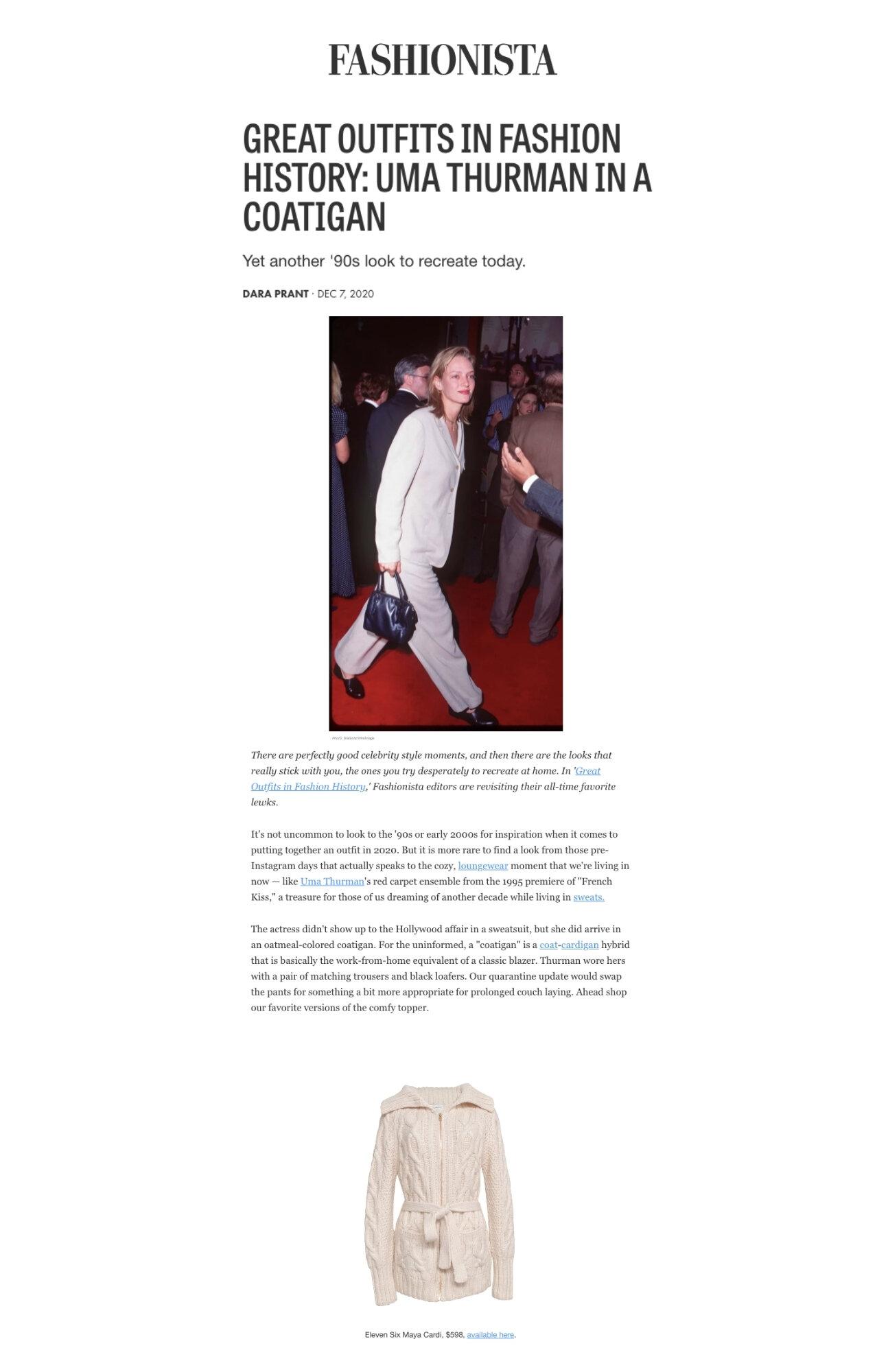 December 07, 2020 | Fashionista Online