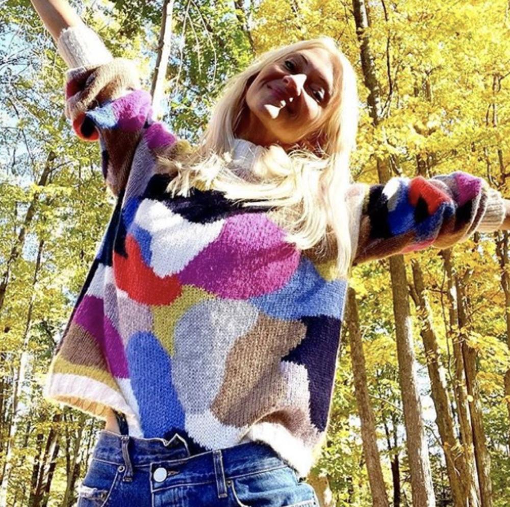 KIT Sweater as worn by    @zannarassi