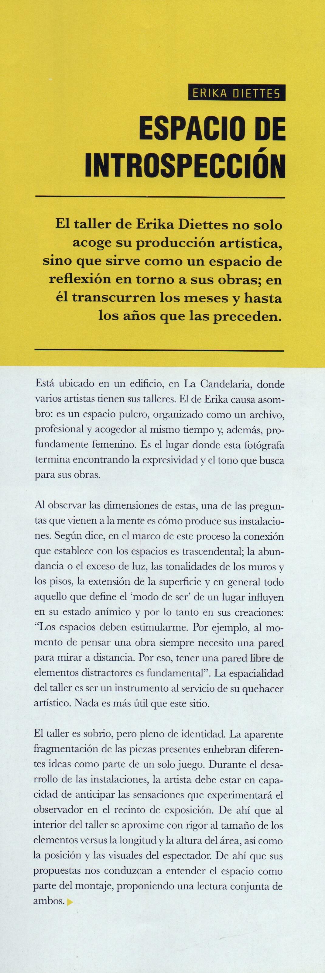 - Agradecimientos a Zandra Quintero Ovalle (Editora general)y a Fernando Gómez Echeverri(Director)