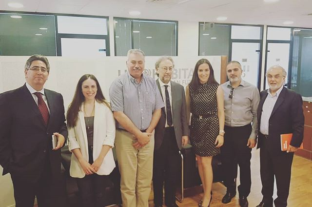 Redal's visit to Un-habitat, meeting with Eng. Tarek Oussairan and Mrs. Tala Kamouriya  #housingandtransportstrategies #realestate #lobbying