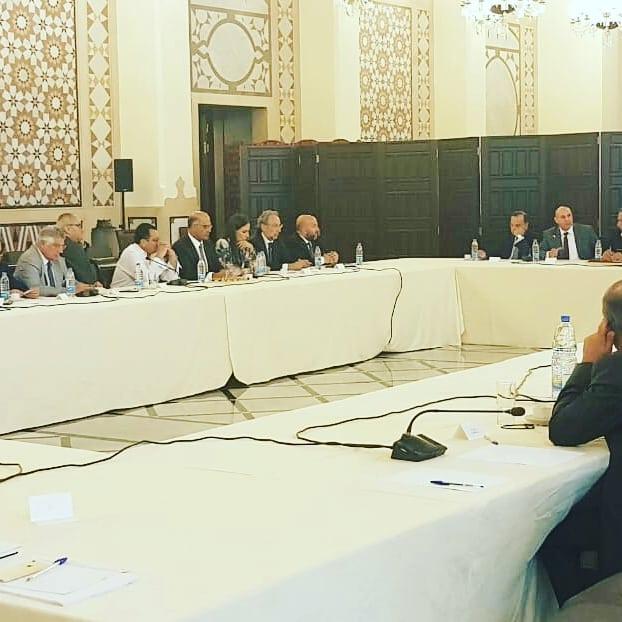 ريدال في اجتماع تنسيقي للبحث في ازمة القطاع العقاري وطرح الخطوات اللازمة للنهوض به