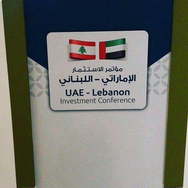 UAE - LEBANON Investment Forum مؤتمر الاستثمار الاماراتي - اللبناني  @abudhabichamber @cciabml #ccib #mohamedchoucair #redal  #nonstoplobbying #lebaneseinabudhabi #uaeinvestment #lebaneseinvestment #saadalhariri