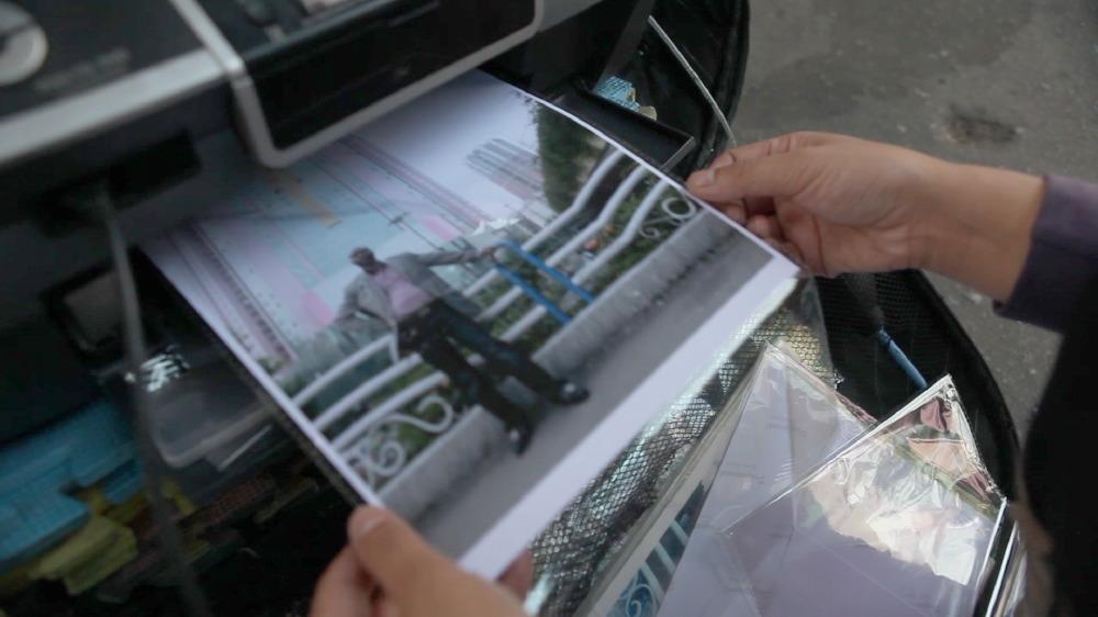 Wu Yong Fu's portable printer