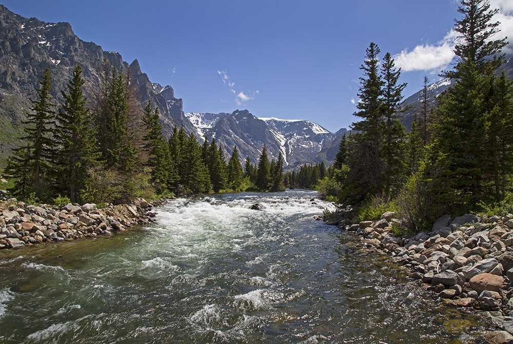 East Rosebud Creek, in Montana's Beartooth Mountains. One bill introduced today by Montana Rep. Greg Gianforte would protect East Rosebud from dams, and another bill would keep gold mines off your public lands at Yellowstone's gateway. (Photo Kathy Lichtendahl.)