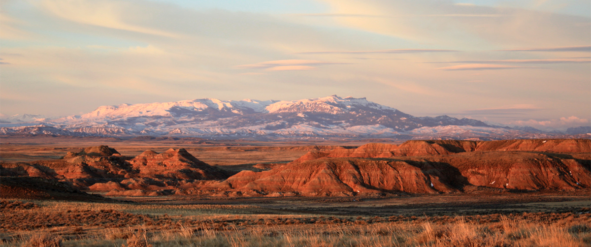 McCullough Peaks, east of Yellowstone in Park County, Wyoming. (Photo BLM.)