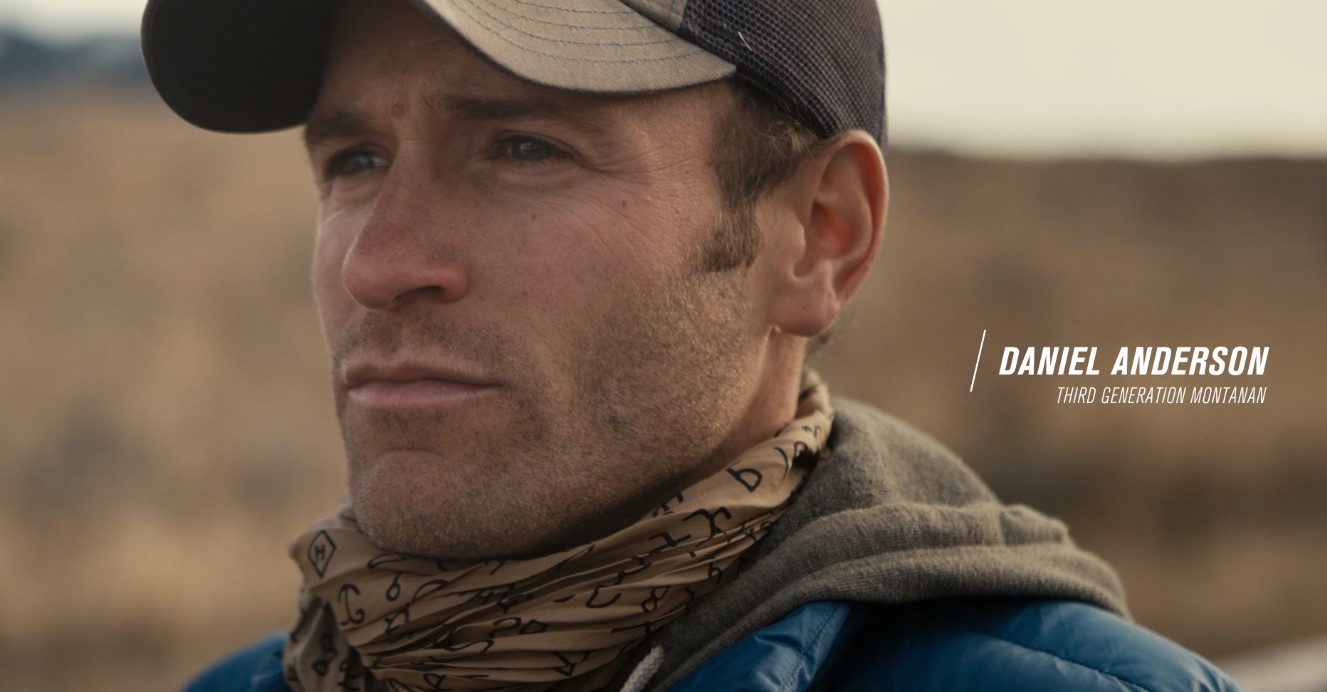 Guest blogger Daniel Anderson was featured in  Last Call: Our Fight for the Yellowstone . (Screen grab from   Last Call  .)