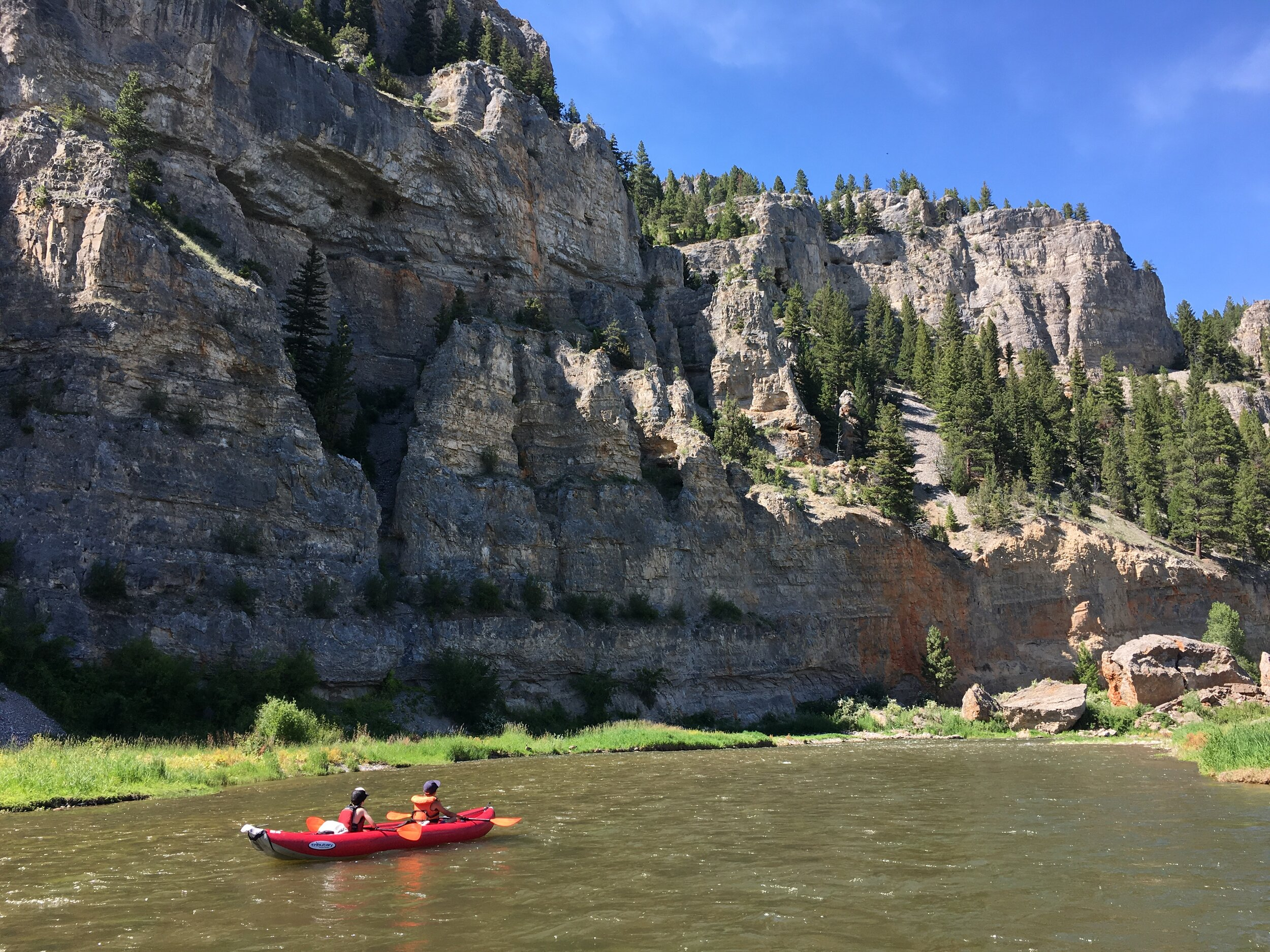 Admiring the Smith River, another one of the proposed rivers for Wild and Scenic designation in the Montana Headwaters Security Act. (Photo Scott Christensen.)