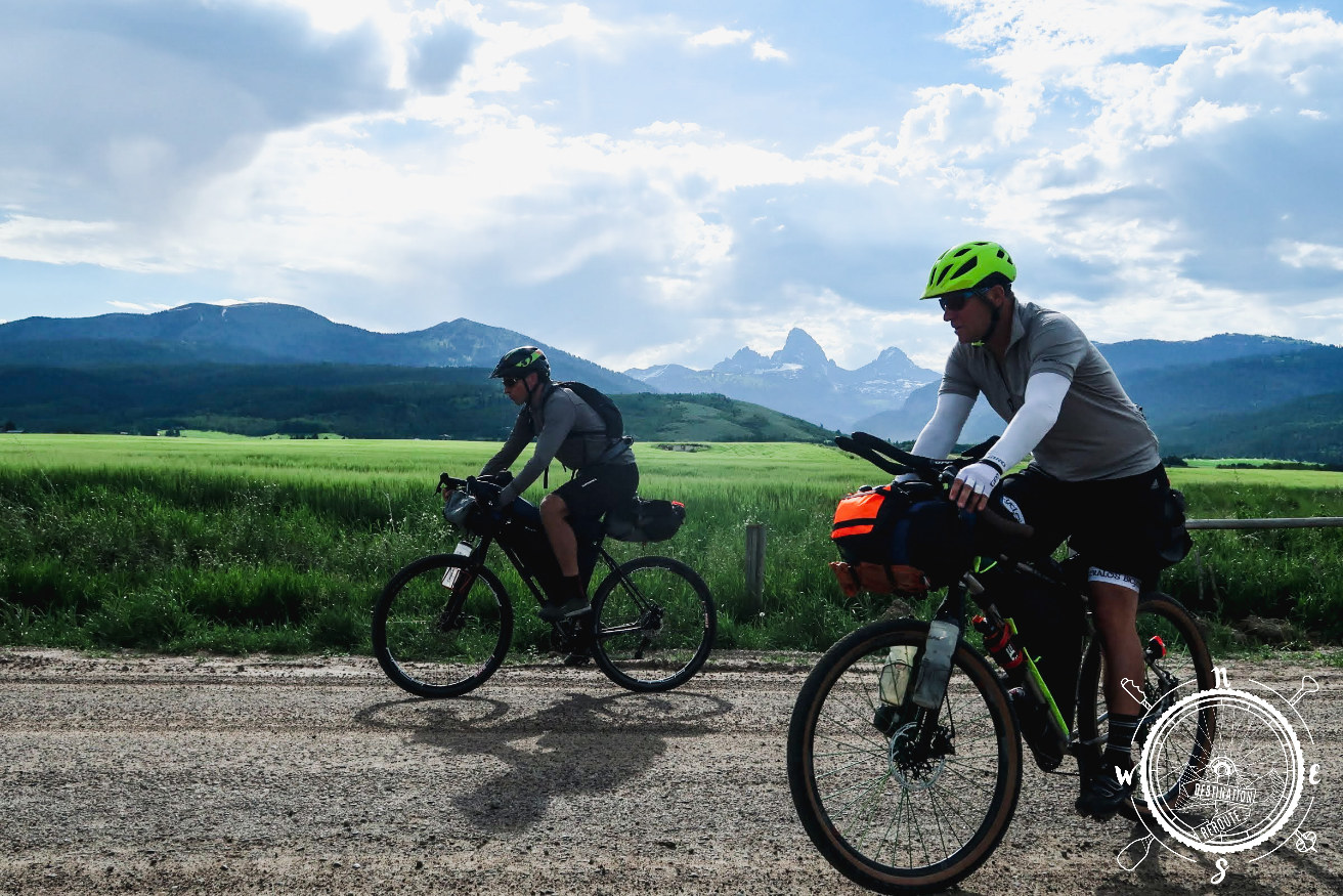 Riding north out of Teton Valley