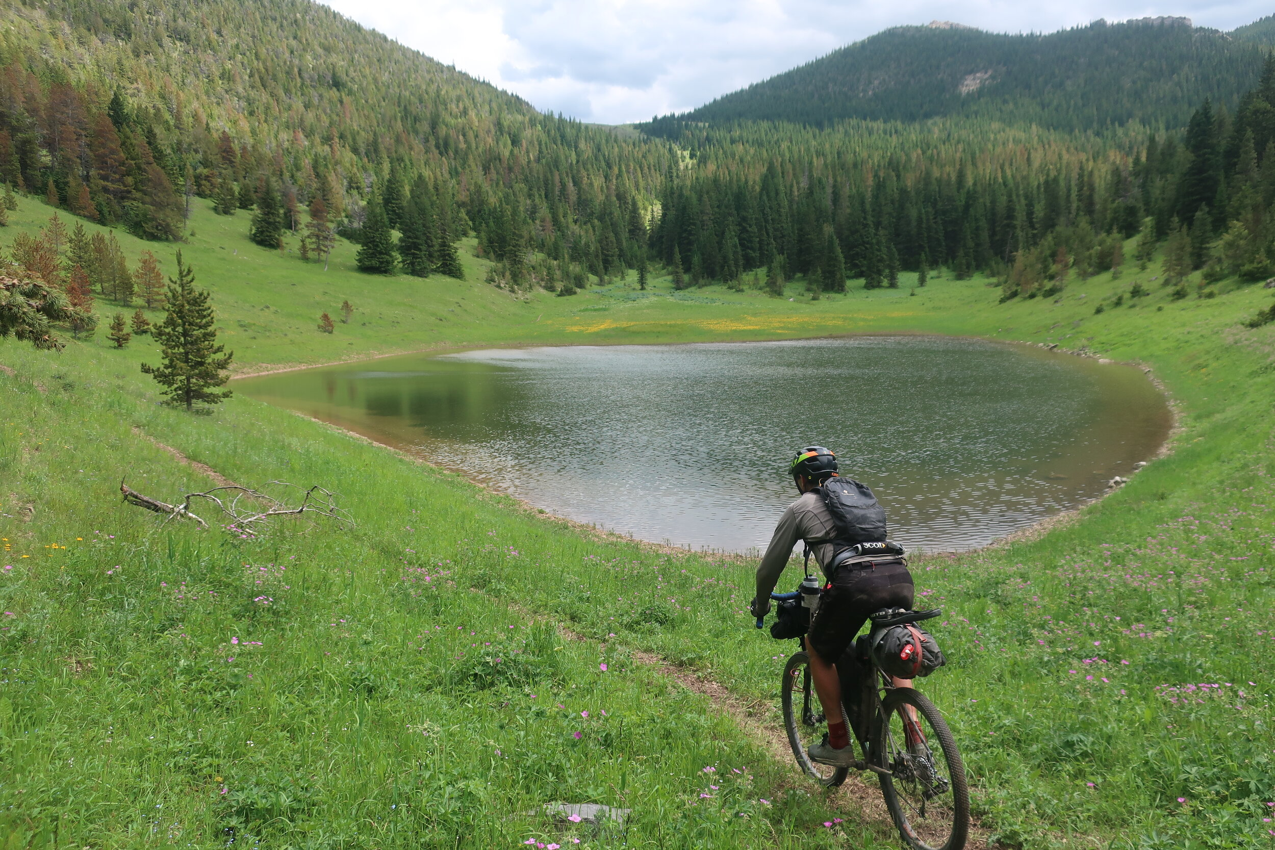 High country single track!
