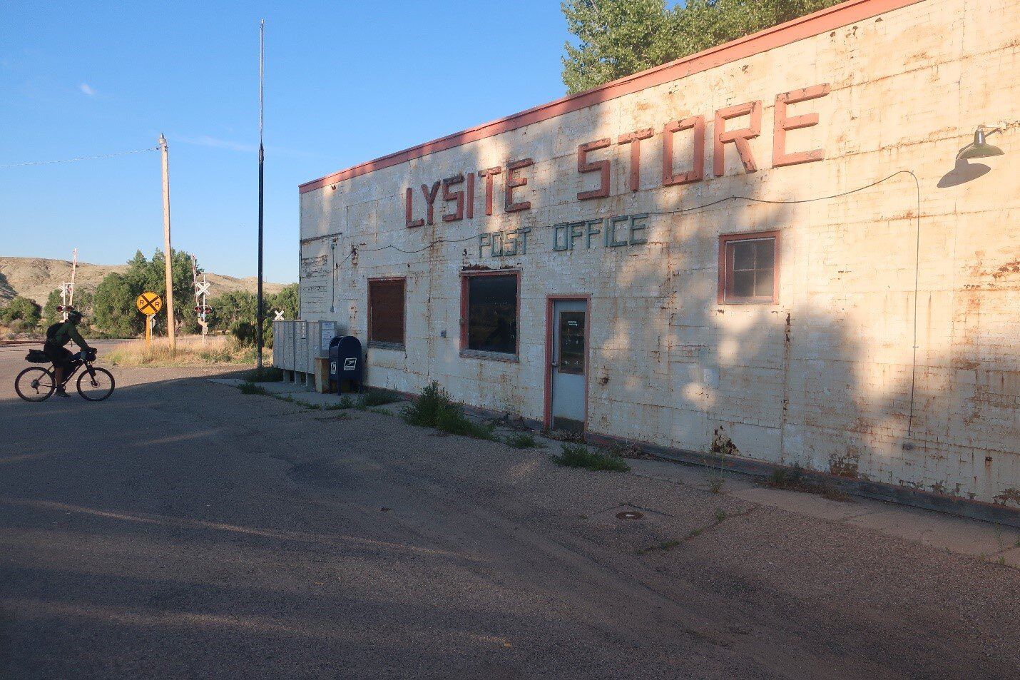 Off the beaten path in Lysite, Wyoming