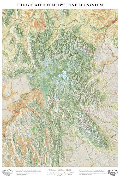 GYE map courtesy of Yellowstone Ecological Center and available for purchase here :   https://www.yellowstoneresearch.org/buy-a-map