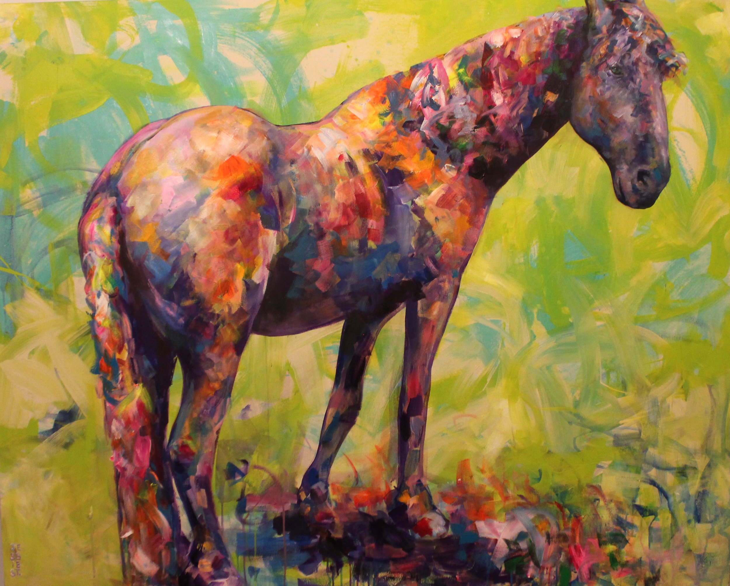 """I Dream Horse"" 48""x60"""