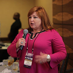 Dedra Shehan, president of Cowboy Way Travel, offers her take on how to prove the value of travel agents. //©2014 Eugene Ko
