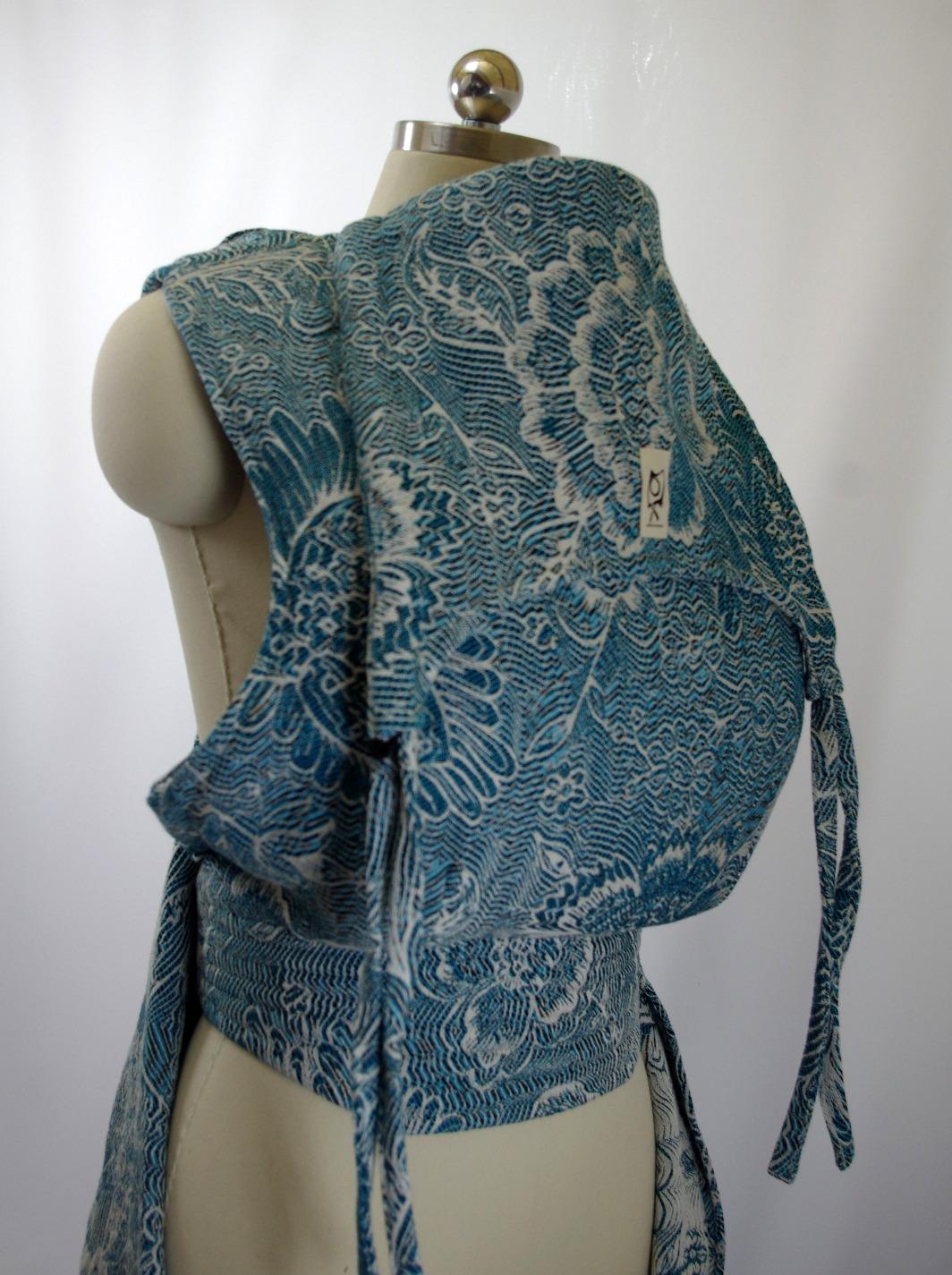 """ObiMama Custom WCMT Pavo Textiles """"Etini"""""""