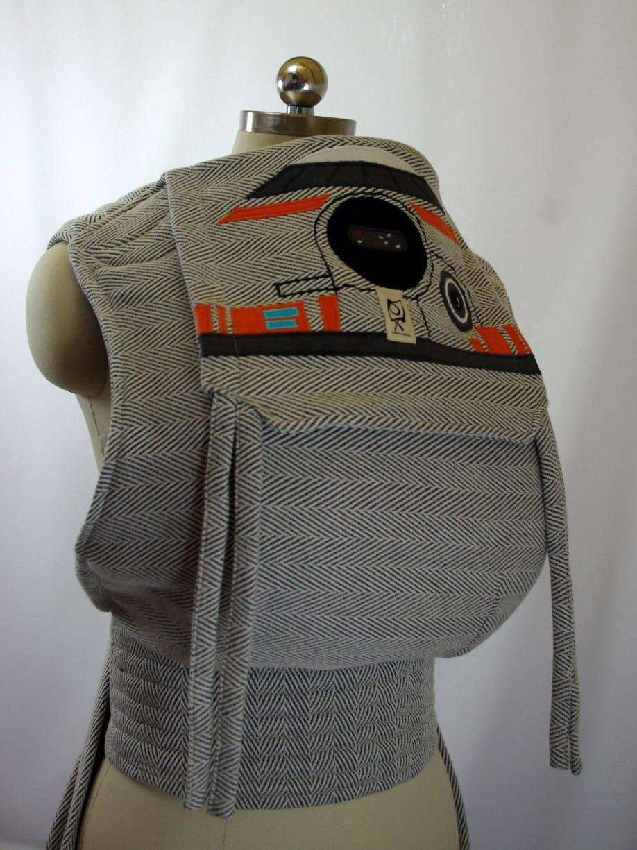 BB-8 Star Wars Inspired Didymos Lisca Grigio