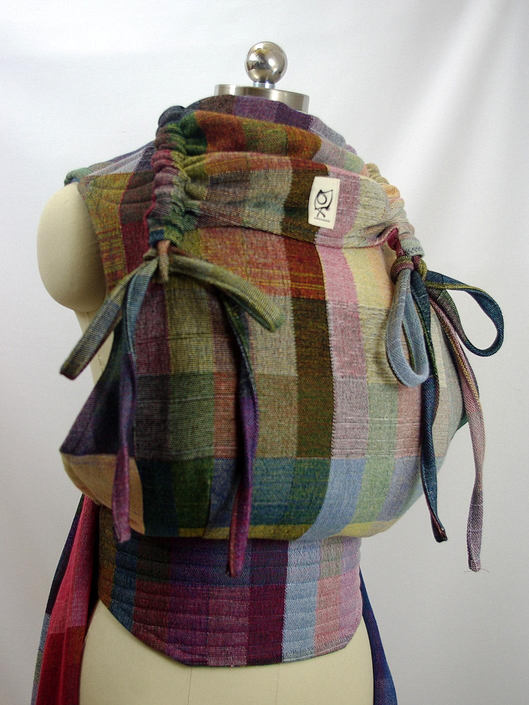 Pavo Textiles Klee ObiMama Wrap Conversion Mei Tai