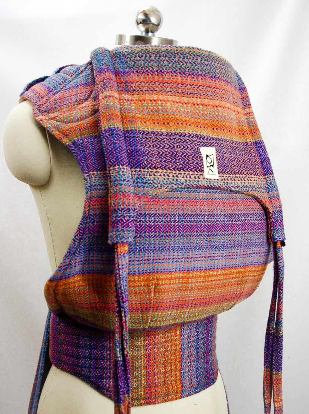 ObiMama Wrap Conversion Mei Tai Banu Textiles' Farideh Opalicious