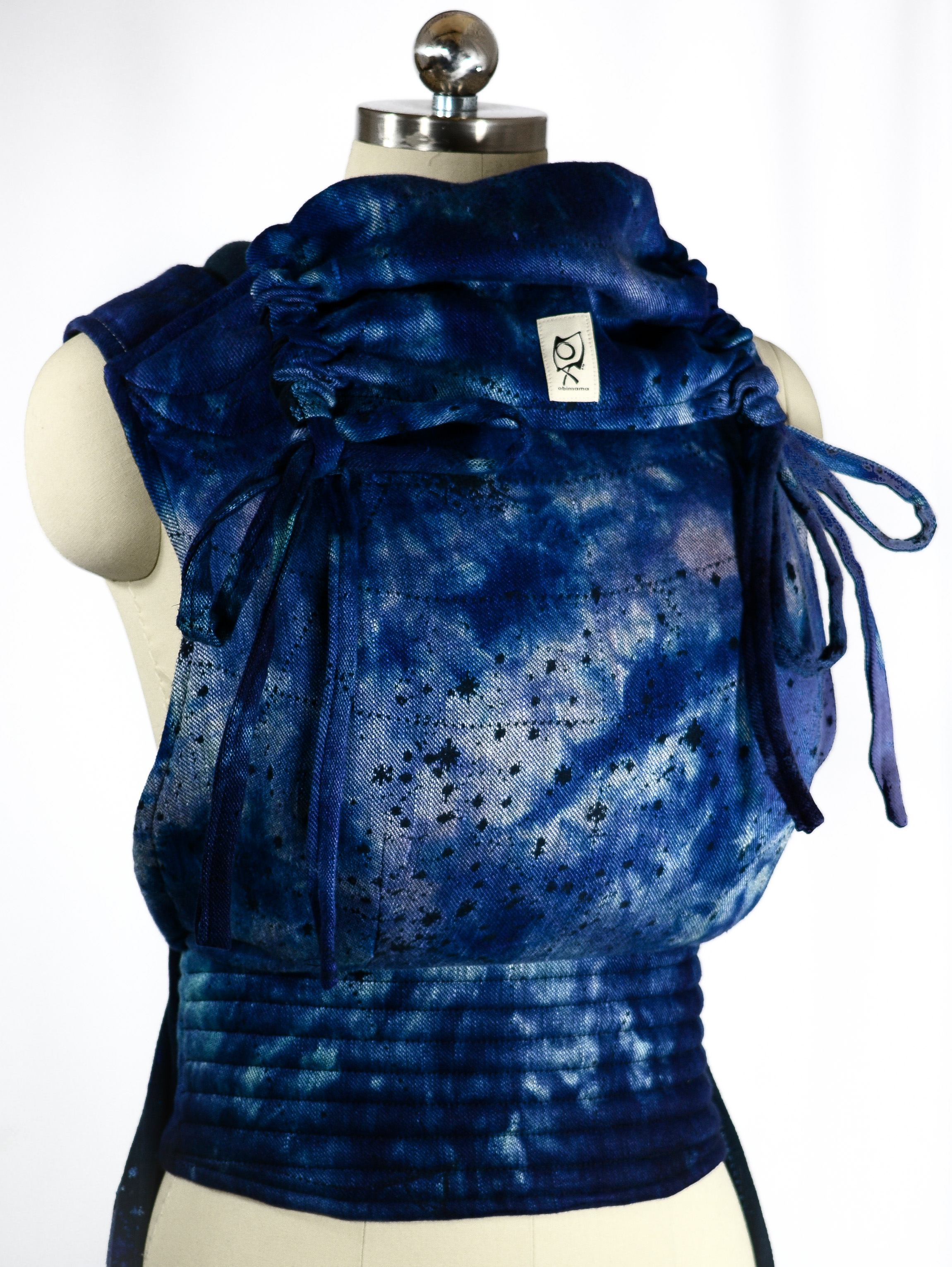 ObiMama Wrap Conversion Mei Tai Firespiral Slings Dyed by Tiny House