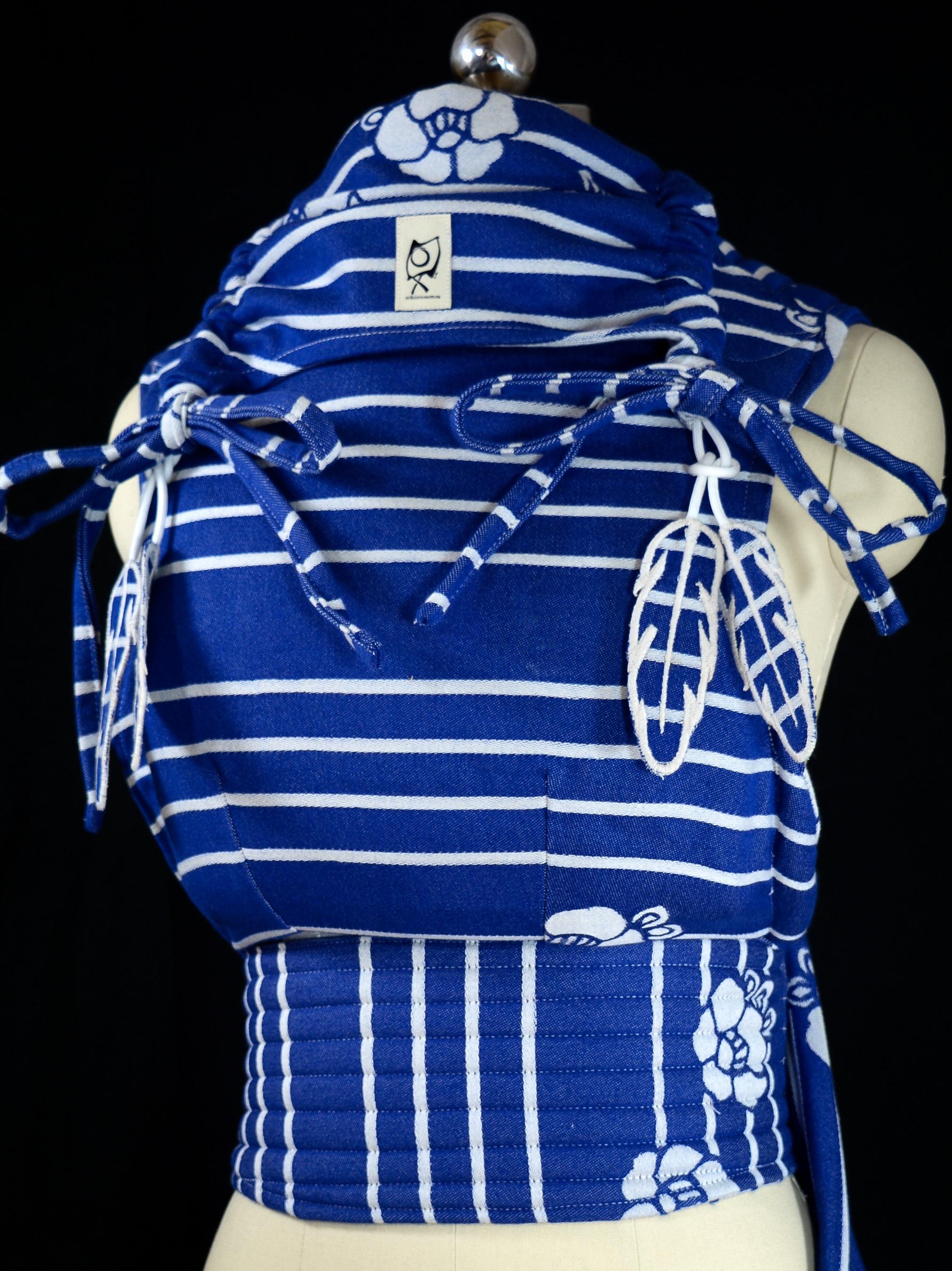 "ObiMama WCMT/WCMD Kokoro Textiles' Coco ""Sailor"""