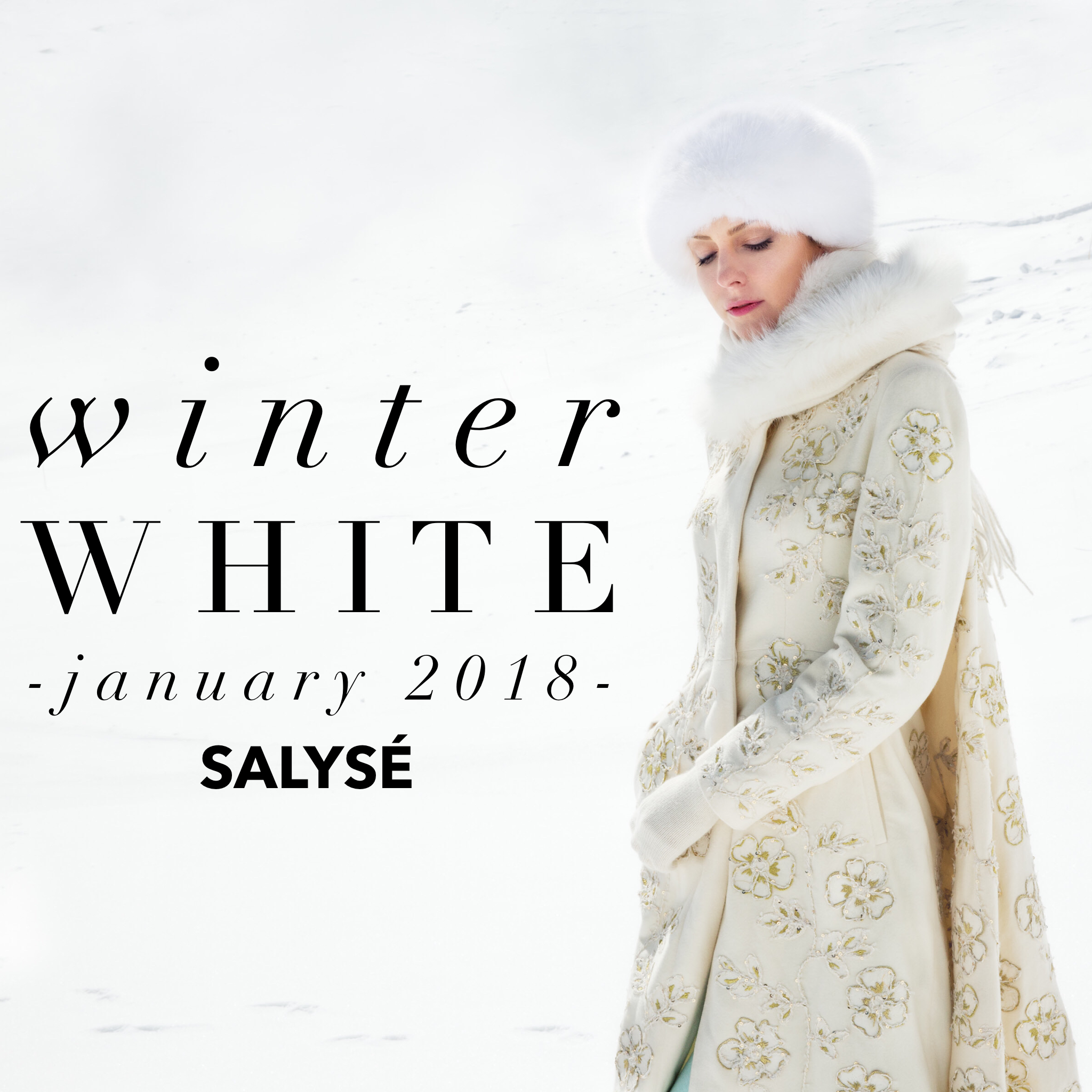 SNOW ANGEL   Photographer: Aliona Kuznetsova; Model: Sylvia Minkova; Hair Stylist and Makeup Artist: Elisabeth Péclard; Stylist: Sodgerel Yadamtsoo;
