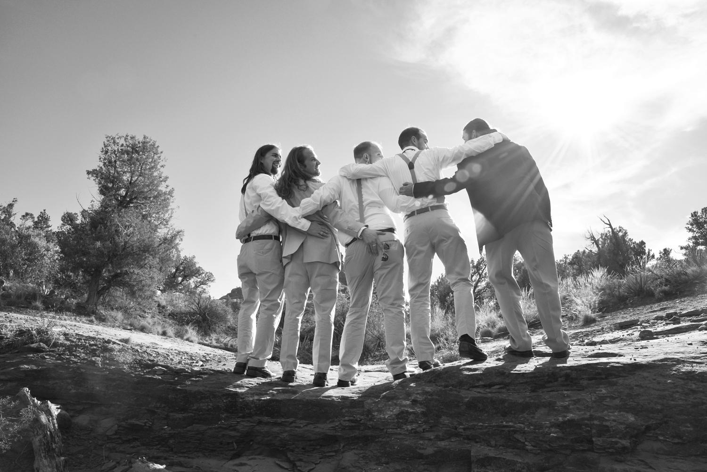 Weddings-Sedona-Wedding-Bell-Rock-Arizona-Desert-Groomsmen-Blacl-White_Carly-Carpenter.jpg