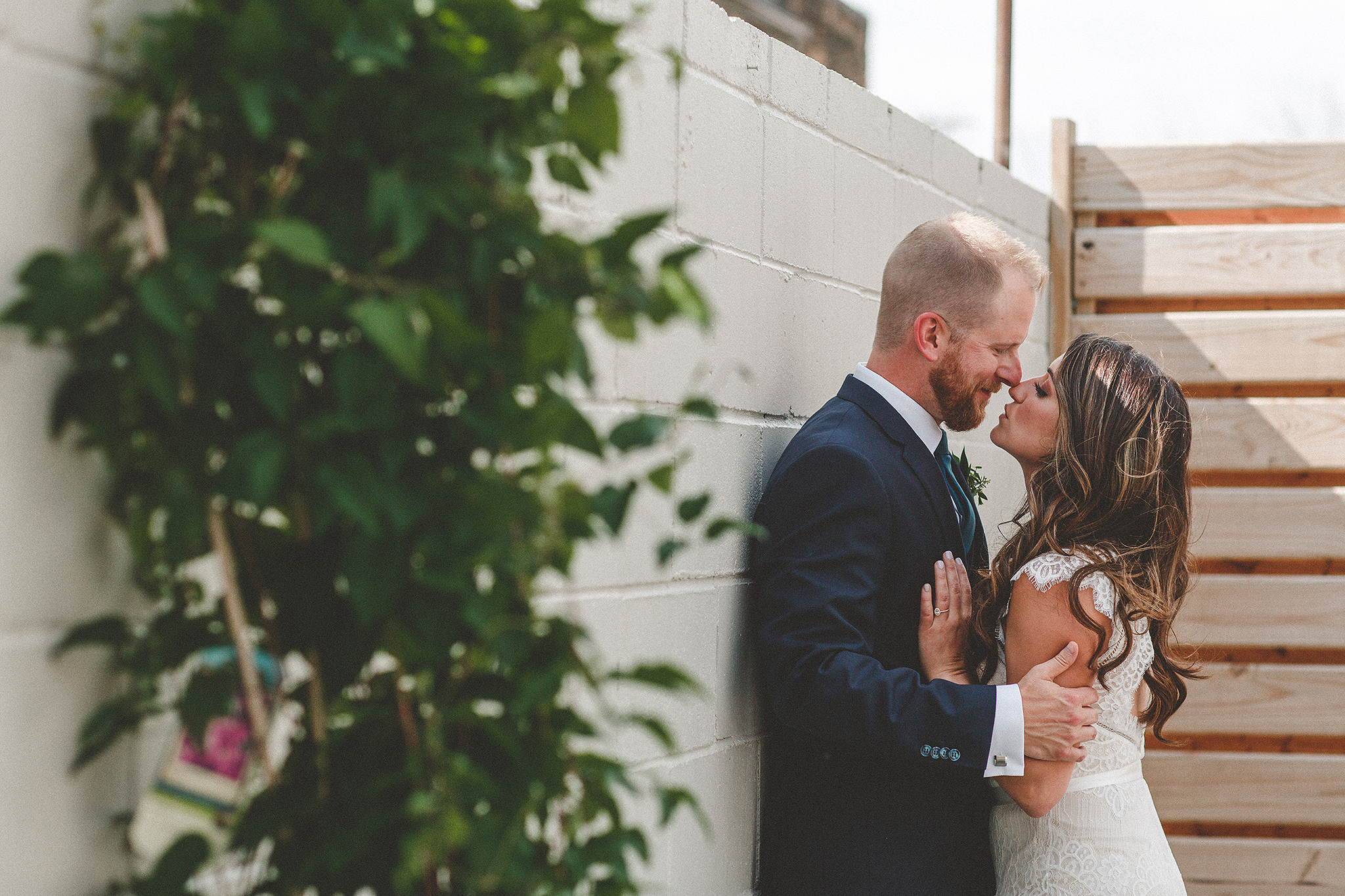 bride/groom candid intimate picture | the ivy house milwaukee wedding photographer | chrissy deming