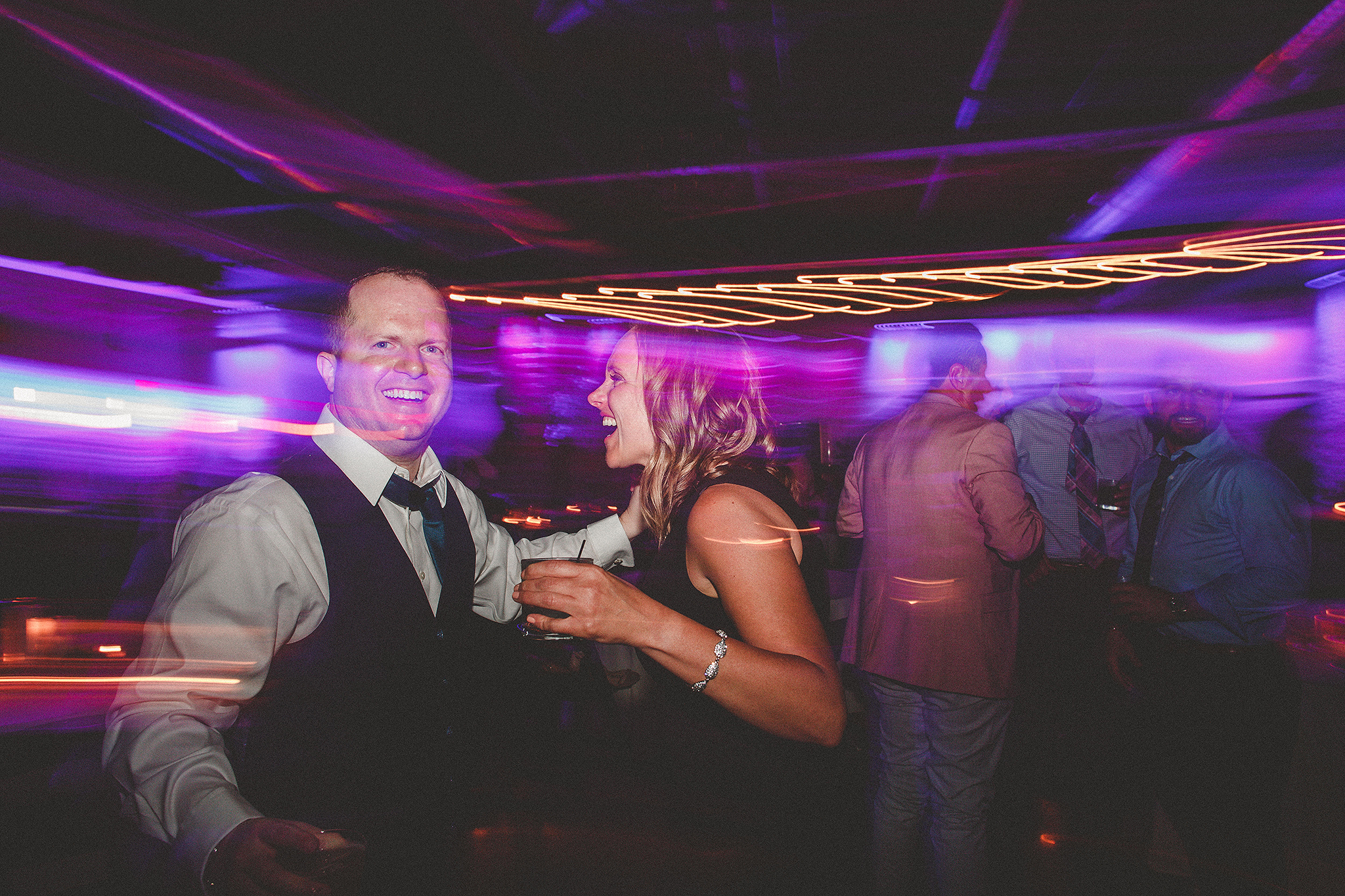 shutter drag reception pictures | the ivy house milwaukee wedding photographer | chrissy deming