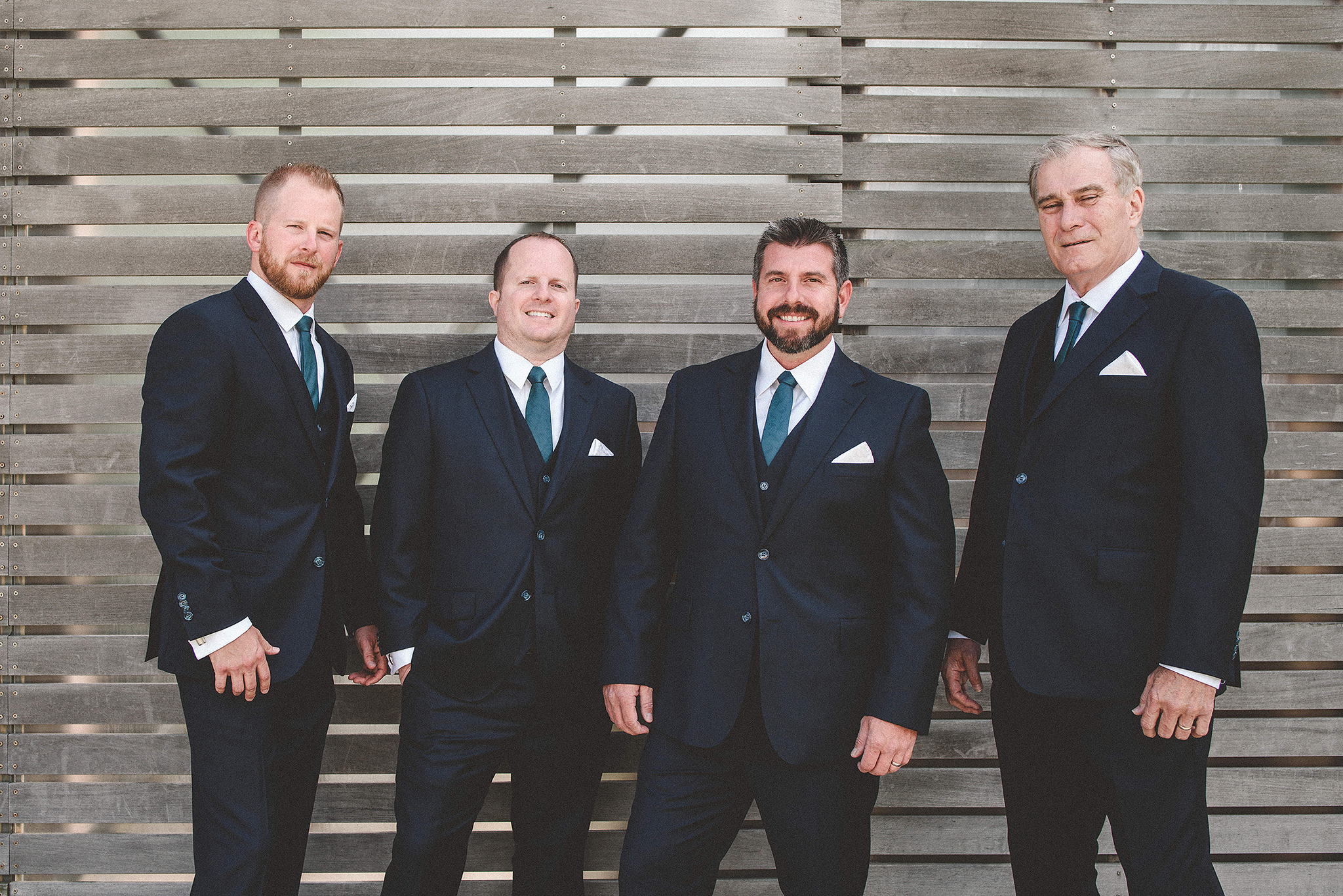 groom with groomsmen | the ivy house milwaukee wedding photographer | chrissy deming photography