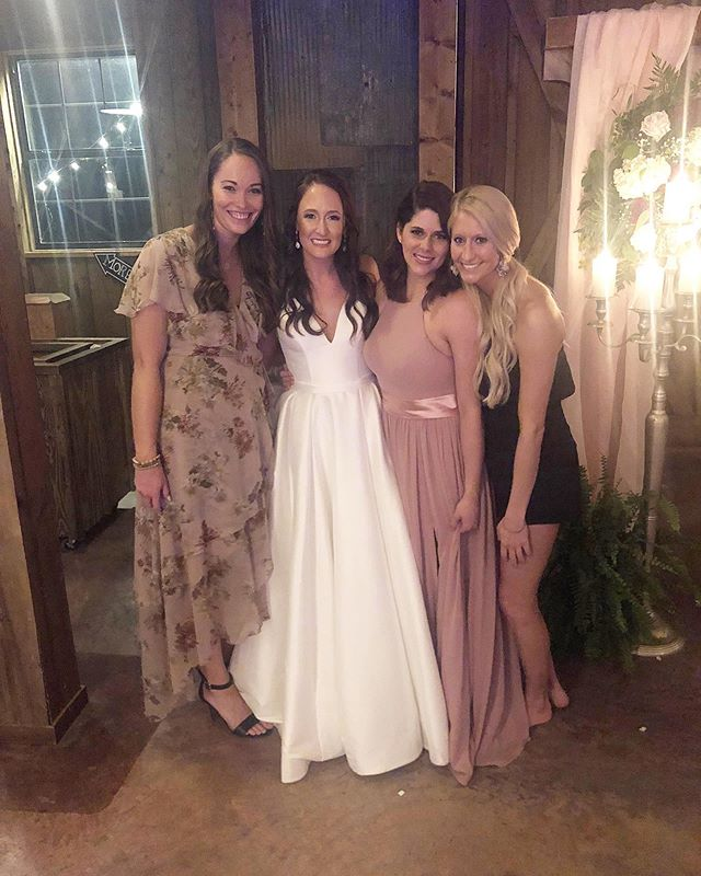 1780 Arden showed up to watch our girl become Mrs. Agee!  I can't imagine a more perfect and beautiful wedding or couple ❤️ @royagee2 @dearlauren14