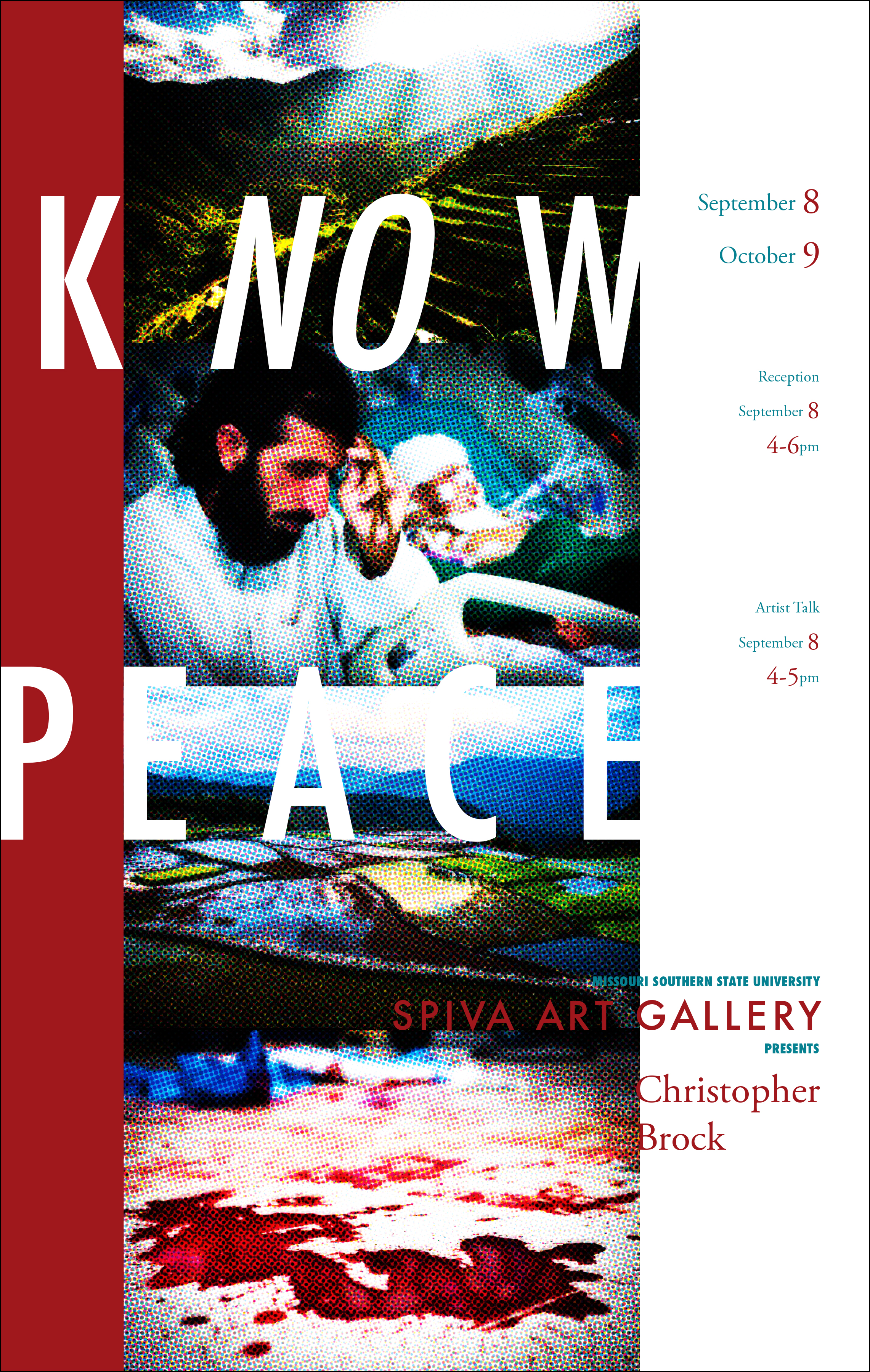 Christopher Brock, Know Peace