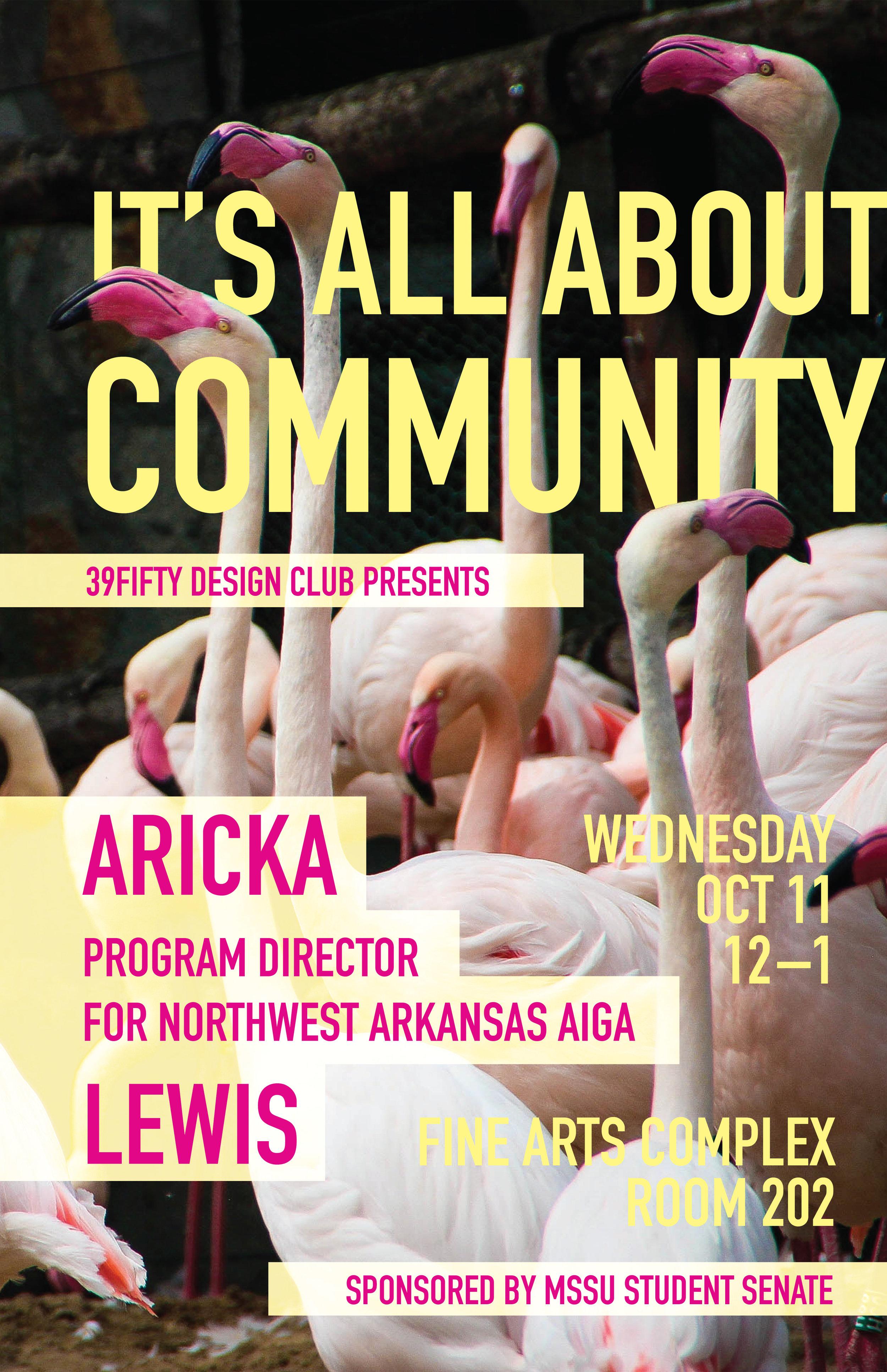 Aricka Lewis, MSSU Student Design Club