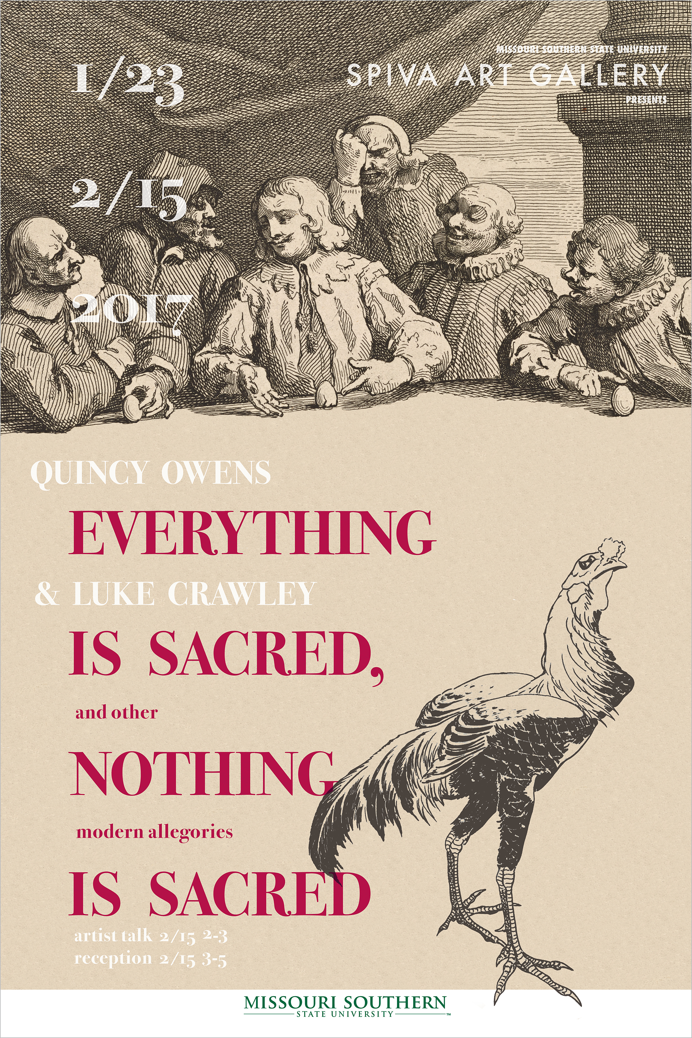 Quincy Owens & Luke Crawley, Everything is Sacred Nothing is Sacred