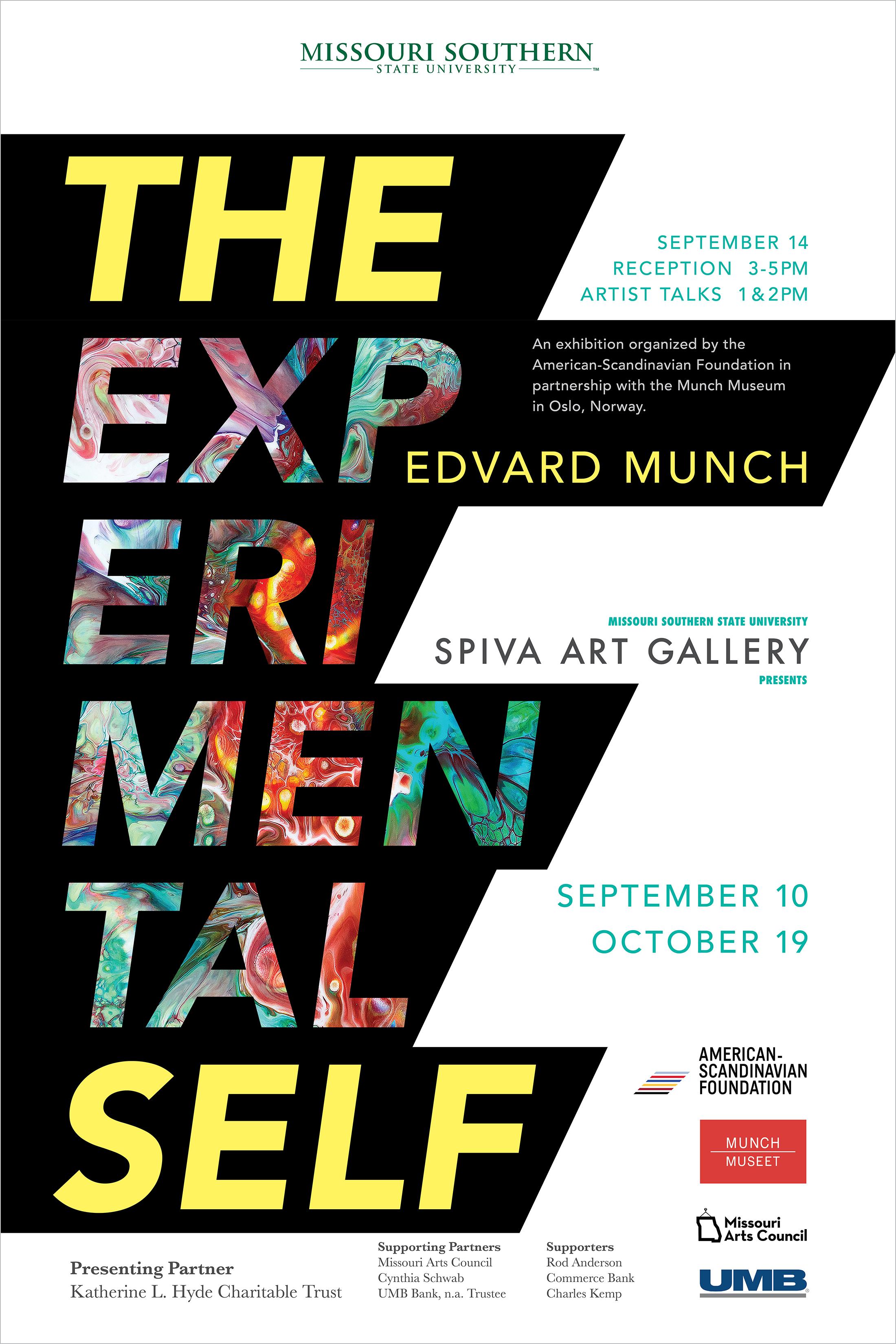Edvard Munch, The Experimental Self