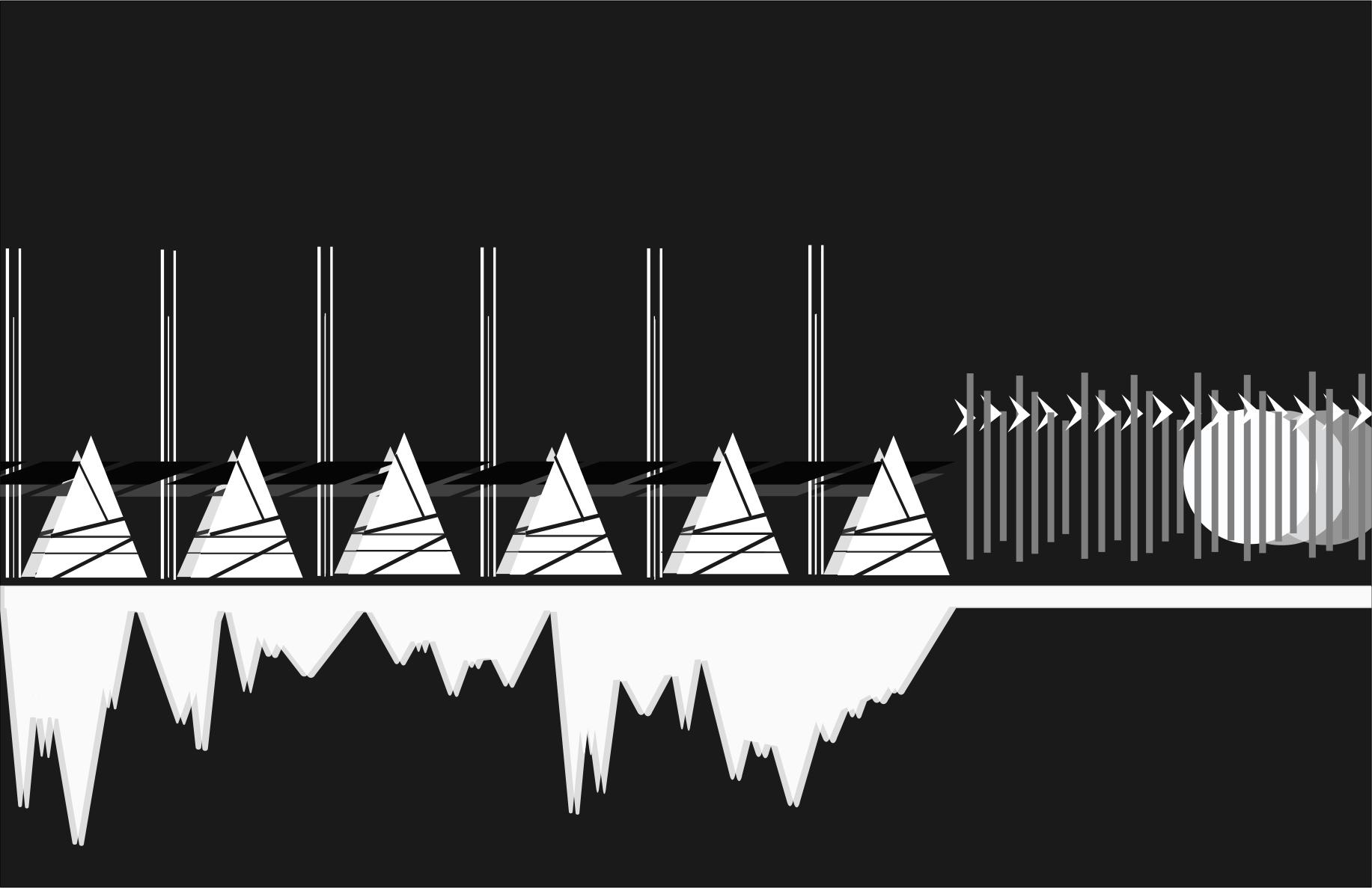 ART215 Illustrator/InDesign - Interpreting Music as Geometric Patterns: Sami Shinn