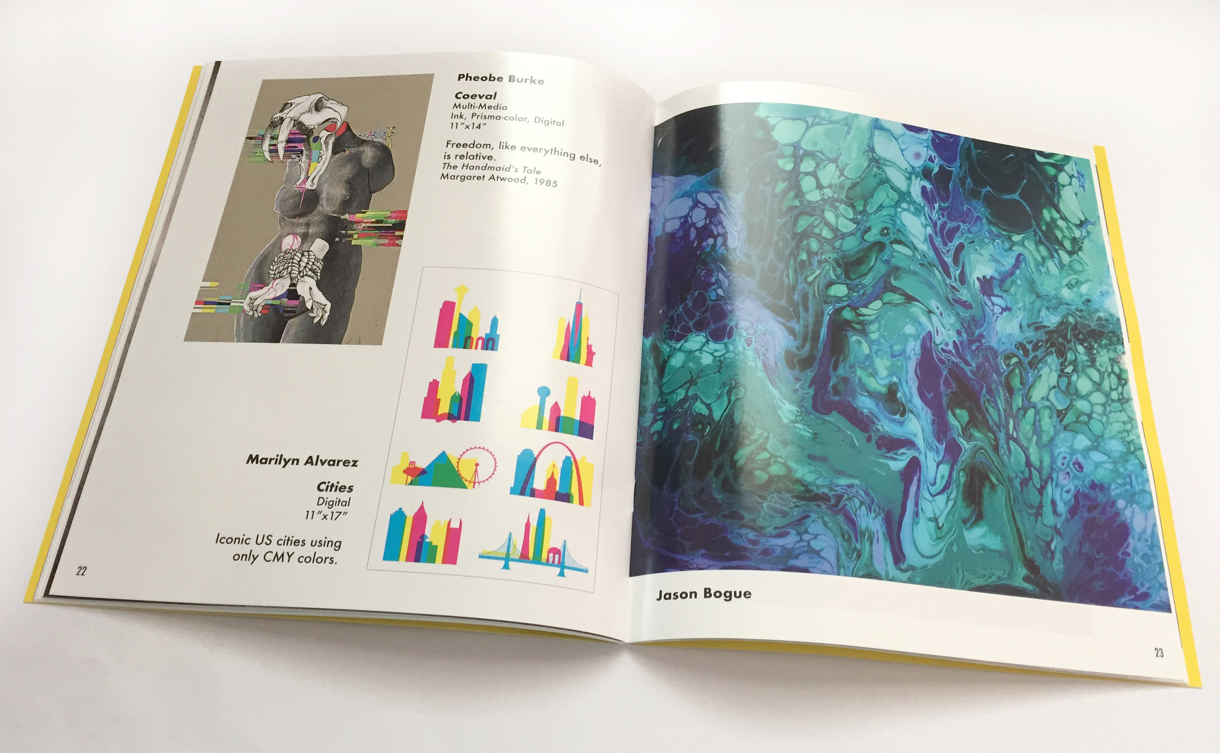ART360 Publication & Layout - BLIXT 2018: Jaclyn Kidd