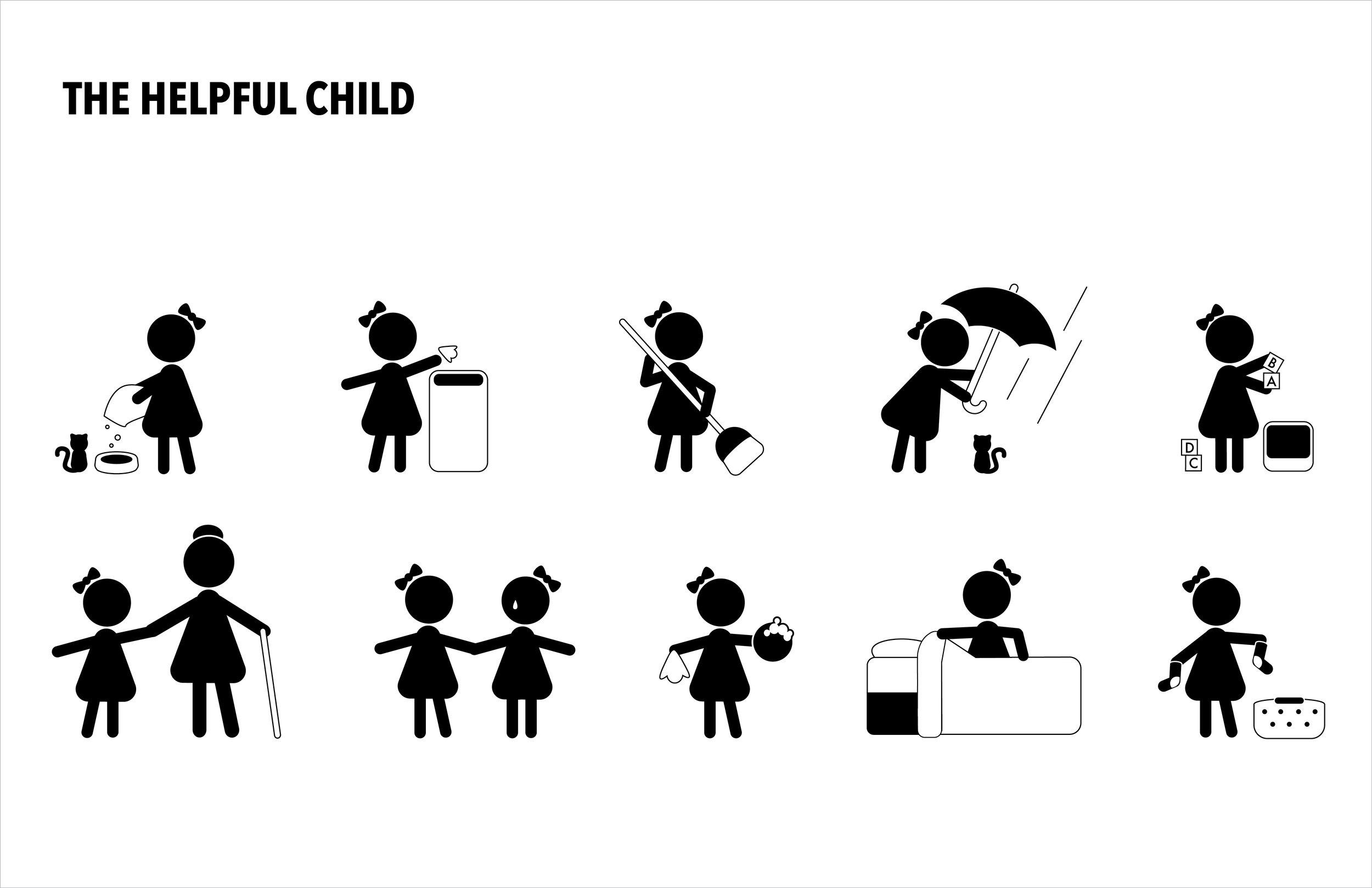 ART324 Semiotics & Symbology - Child Symbol Set: Madalyn Richardson
