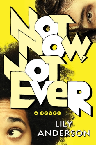 NOT NOW, NOT EVER (WEDNESDAY BOOKS, NOVEMBER 21, 2017) - AMAZON | BARNES AND NOBLE | INDIE BOUNDElliot Gabaroche is very clear on what she isn't going to do this summer. 1. She isn't going to stay home in Sacramento, where she'd have to sit through her stepmother's sixth community theater production of The Importance of Being Earnest.2. She isn't going to mock trial camp at UCLA.3. And she certainly isn't going to the Air Force summer program on her mother's base in Colorado Springs. As cool as it would be to live-action-role-play Ender's Game, Ellie's seen three generations of her family go through USAF boot camp up close, and she knows that it's much less Luke/Yoda/