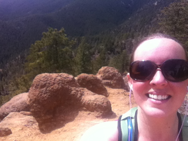 I did do Colorado-esque things, like hike mountains and stuff. This is at the top of my favorite one of all.