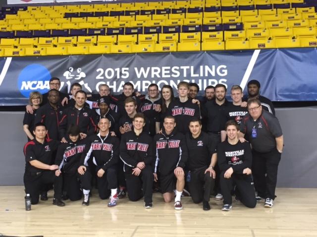 Congrats Maryville University Saints Wrestling - Division II Central Region Champions!