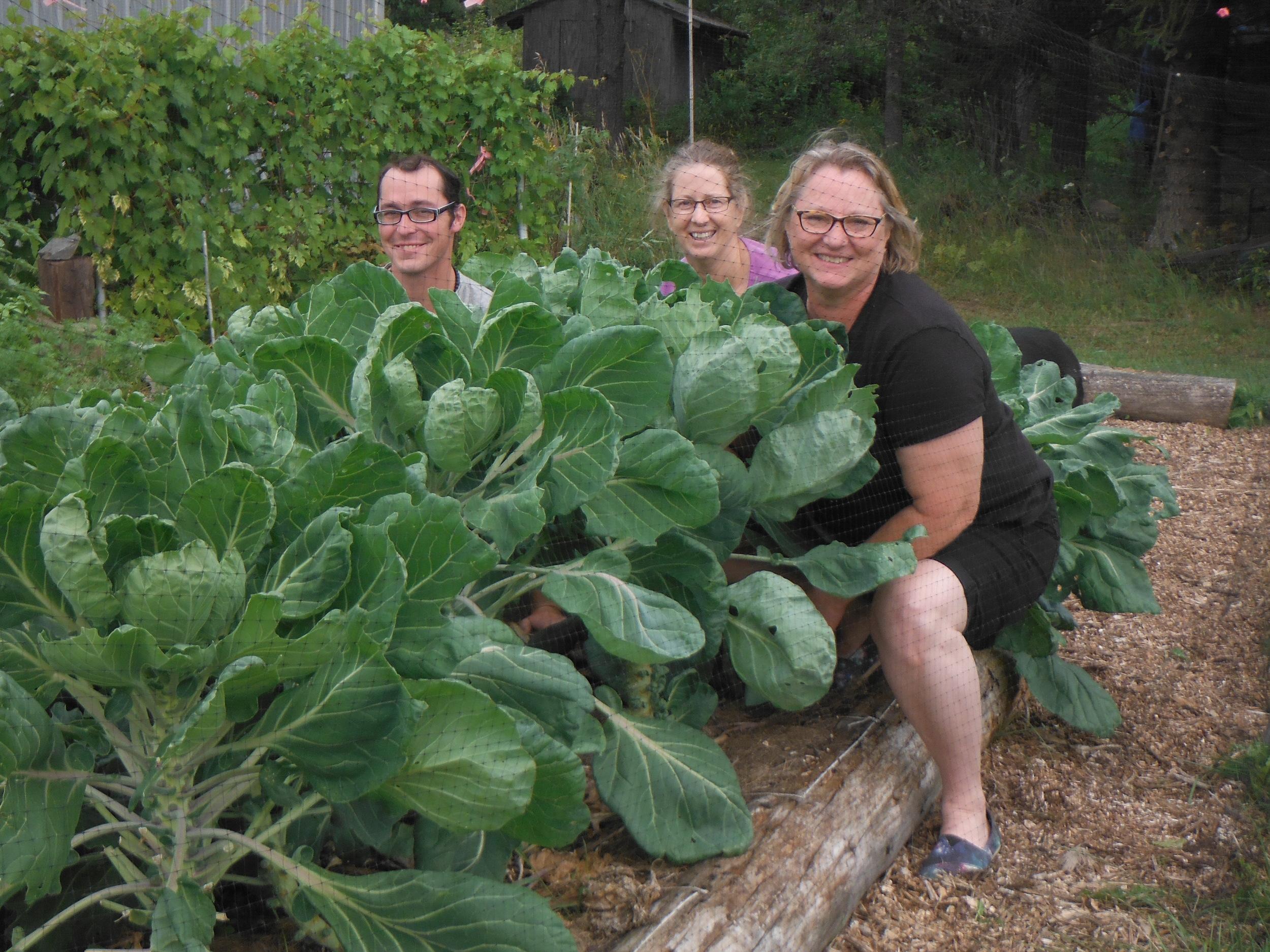 Garden Gurus! Photo credit: Gail Bong