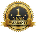 We promise to repair, replace or refund windows or components in the unlikely event of failure or breakage for a full 12 months from date of purchase (excluding scratching).