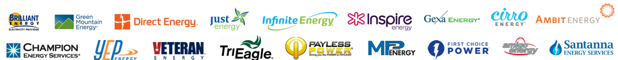 Featuring all the best rates from leading energy suppliers in your state and zipcode area